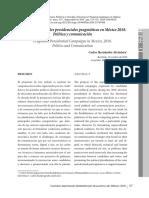 Campañas electorales presidenciales pragmáticas en México, política y comunicación