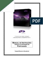 Sibelius 7.5 - Manual