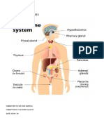 Microbial Disease in Endocrine System