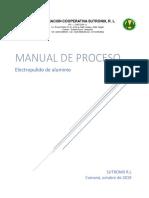 Manual de Electropulido de Aluminio