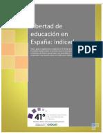 La libertad de Educación en España - Conferencia Episcopal Española