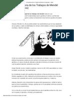 La Importancia de Los Trabajos de Mendel (Con Ejemplos) - Lifeder