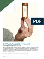 Eyaculacion Precoz Novedades Farmacologicas