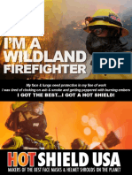 HS-2 WILDLAND FIREFIGHTER FACE MASK