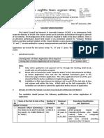 26092019 CCRAS HQ Advt PermanentVacancies