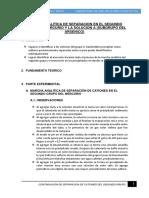 INFORME 3 MARCHA ANALITICA DE SEPARACION EN EL SEGUNDO GRUPO DEL MERCURIO Y LA SOLUCION A(SUBGRUPO DEL ARSENICO).docx
