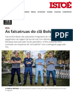 As Falcatruas Do Clã Bolsonaro - IsTOÉ Independente