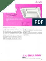 Spaulding Lighting Quartz Floodlight Spec Sheet 6-77