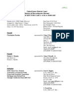 2016 Docket-Hayden-v- HSBC-MA-Fed-Dist-Ct-Dckt