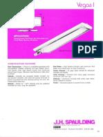 Spaulding Lighting Vegas I Fluorescent Spec Sheet 6-77