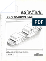 Mondial rag tearing line manual