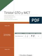 Tiristor GTO y MCT