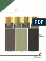Spaulding Lighting Designer Group Chroma Paint Color Chart 1975
