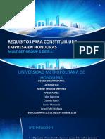 Presentacion Derecho Empresarial
