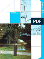 Spaulding Lighting Designer Group Fresno I & II Bollard Spec Sheet 4-86