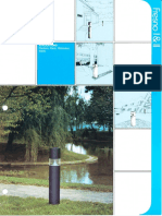 Spaulding Lighting Designer Group Fresno I & II Bollard Spec Sheet 8-84