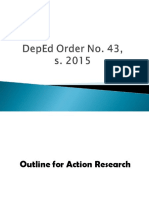 Outline for Action Research