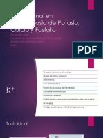 Potasio, Calcio, Fosfato y Acidobase