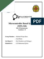 Lab Report2 Keil Simulator