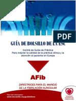 Guía traducida de Fibrilación Auricular
