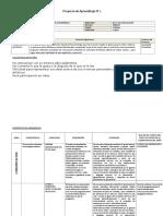 esquema proyecto LA HORA DE LA LECTURA ultimo.doc