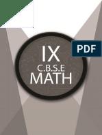 9th CBSE Maths Volume 1.pdf