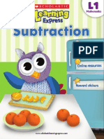 Math Subtraction L1
