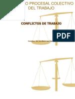 Diapositivas Procesal Conflictos Colectivos II.