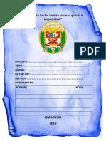 Monografia de Derecho Penal y Clases de Penas