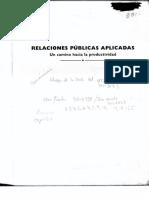 RELACIONES PÚBLICAS APLICADAS por SALVADOR MERCADO