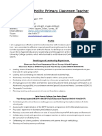 daniel hollis cv october 2019