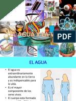3. BIOLOGIA El Agua y La Vida