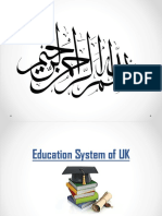 Education System of UK