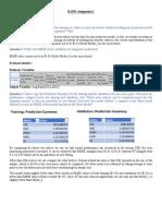 Business Analytics_Prediction Model