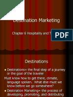 Destination Marketing Ch 6