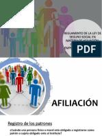 Reglamento de La Ley de Seguro Social en Materia de Afiliación, Clasificación de Empresa, Recaudación y Fiscalización