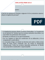 4. Legislación Peruana I