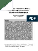 Reformas Educativas en Mexico