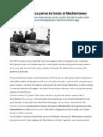 La Bomba Atomica Persa in Fondo Al Mediterraneo