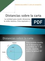 distancias sobre carga