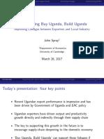 Session 2John Spray UgandaPresentation230317