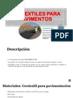 Geotextiles Para Pavimentos