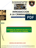Diapositiva Sistema de Identificacion y La Identificacion Forense