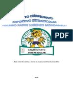 Bases Quinto Campeonato Deportivo