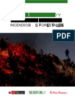 incendio forestal corto y mediano largo plazo