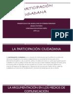 La Participacion Ciudadana Maria Jose