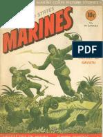 WWII 1943 Marine Corps Comic Book