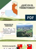 Territorio, Identidad Nacional y Soberania