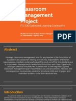 itl 530 - classroom management project - a