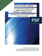 Proyecto fin de carrera proyecto planta FV puesta en marcha-normativa etc.pdf